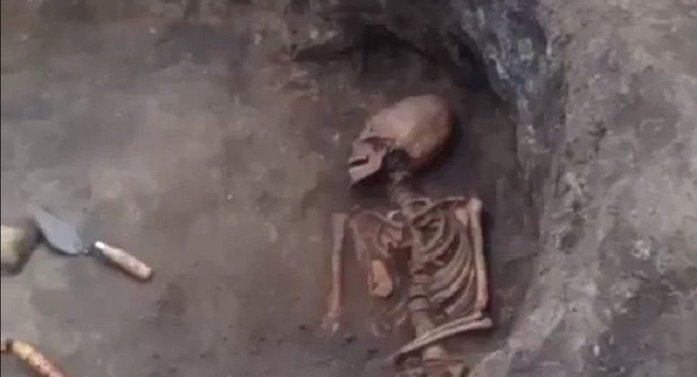 Skeleton With 'Alien' Shaped Skull Discovered in Russia
