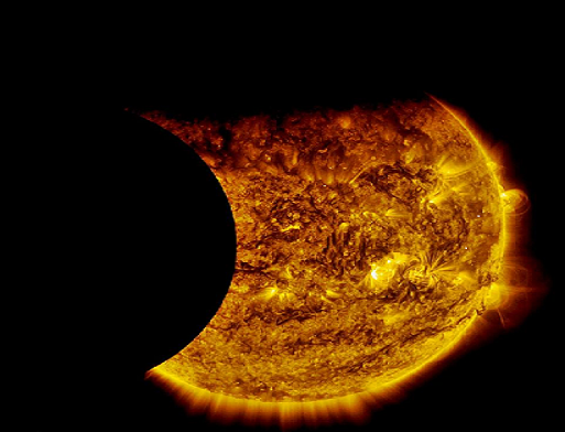 NASA Captures Double Eclipse of the Sun
