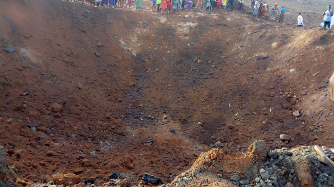 Meteor Impact in Nigeria Causes Explosion, Creates Deep Crater
