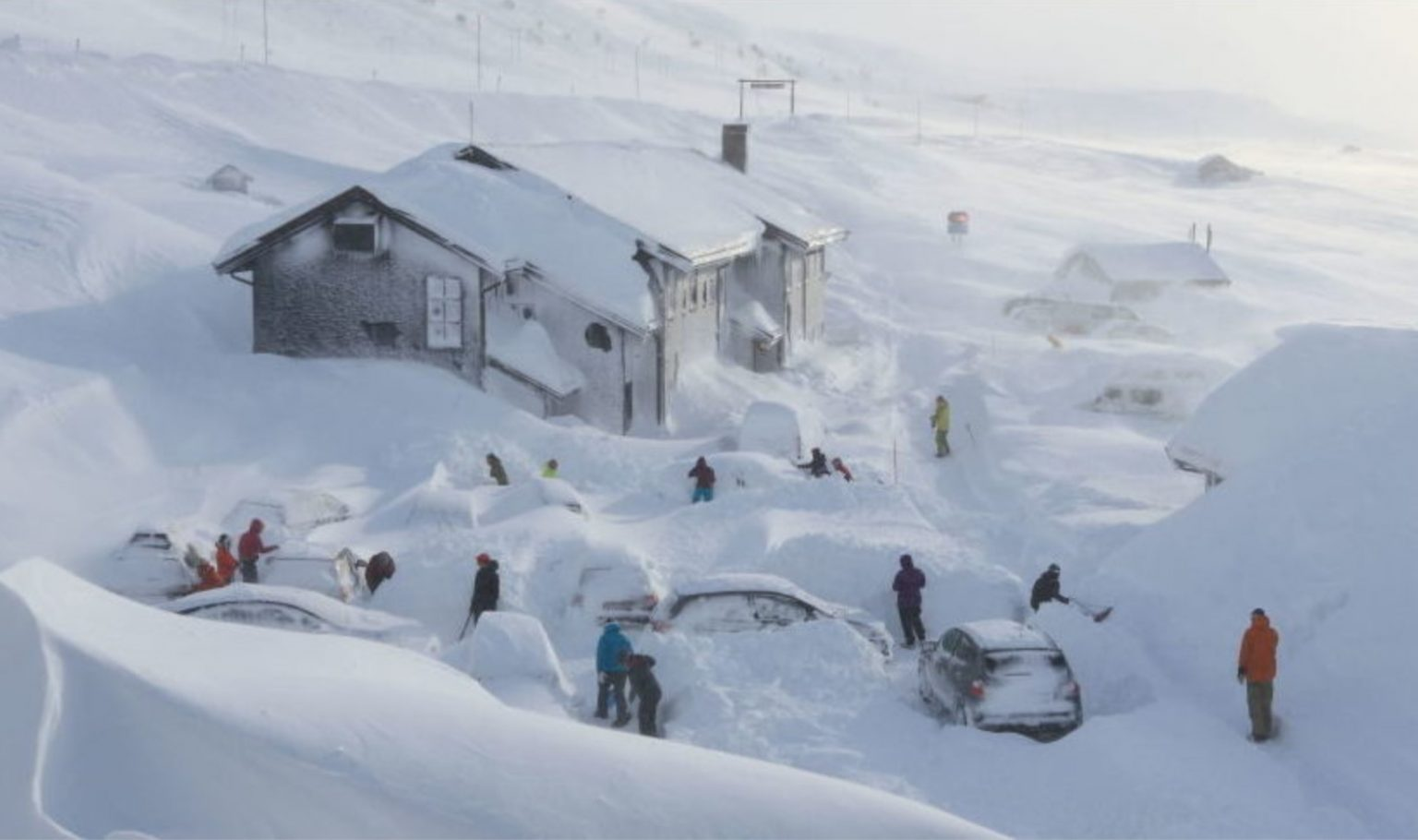 Snowmageddon Buries Turkey and Norway Under 10-20 Feet of Snow