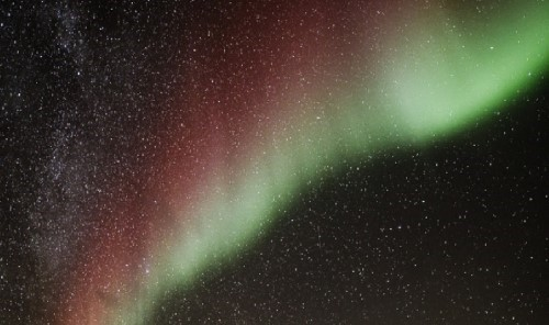 Extremely Rare Red Auroras Seen Over Finland