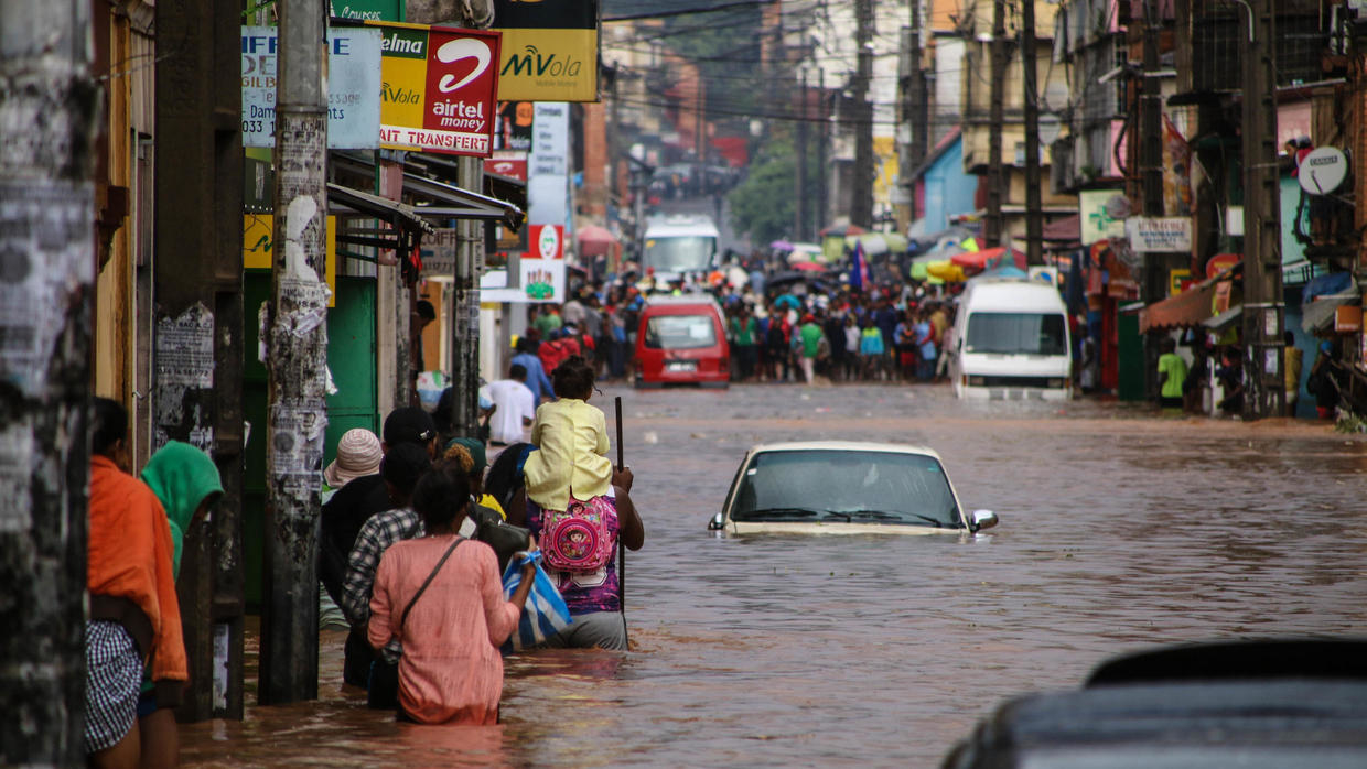Madagascar declares national emergency as massive floods Inundate the Country